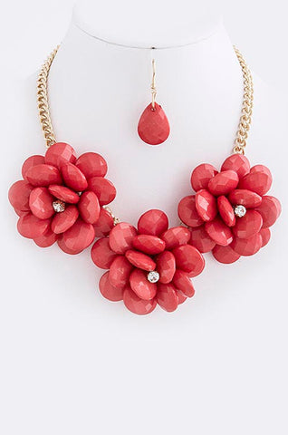 Garden Party Flower Necklace - My Jewel Candy - 1