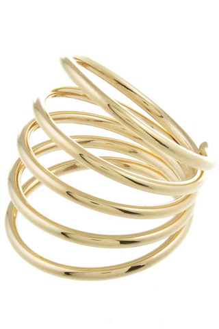 Gold Spiral Ring - My Jewel Candy - 1