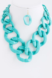 Coral Chain Necklace - My Jewel Candy - 2