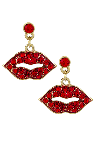 Kiss Me Earrings - My Jewel Candy