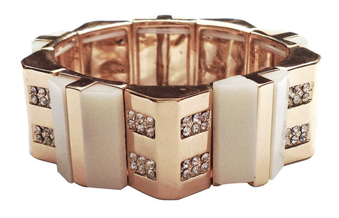 Luxe Collection Cream Bracelet - My Jewel Candy