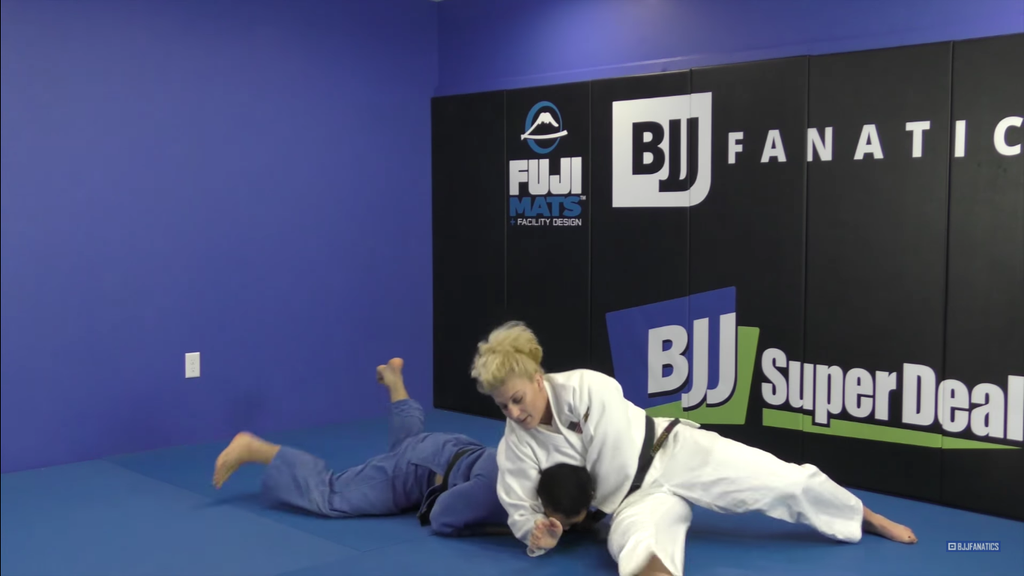 Chop Down to Clock Choke with Kayla Harrison