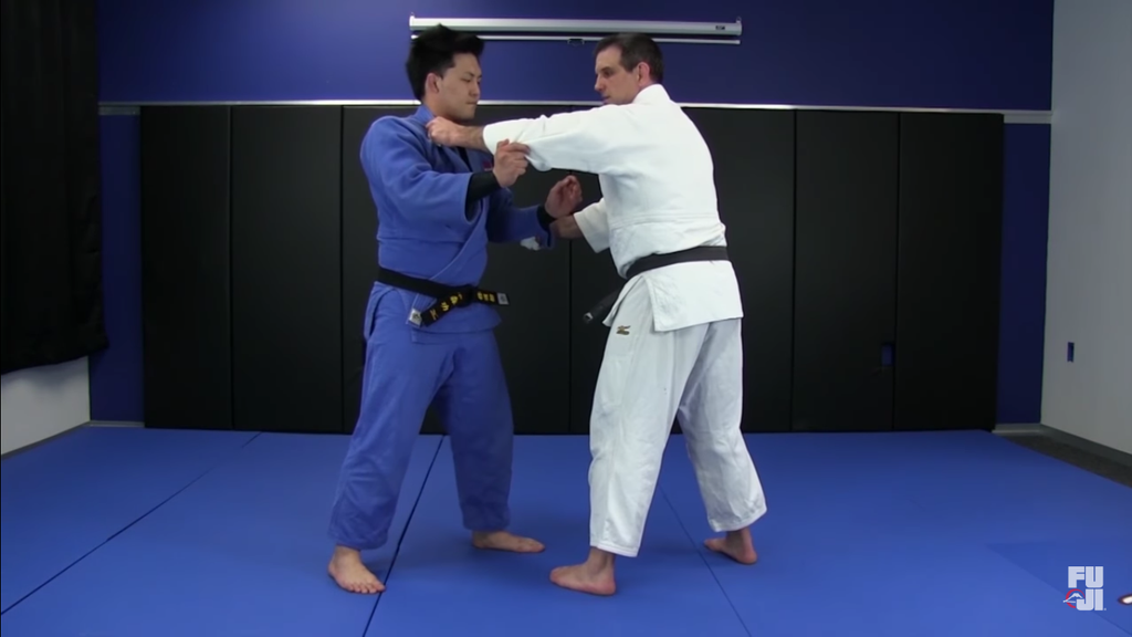 One Handed Tai Otoshi With Jimmy Pedro