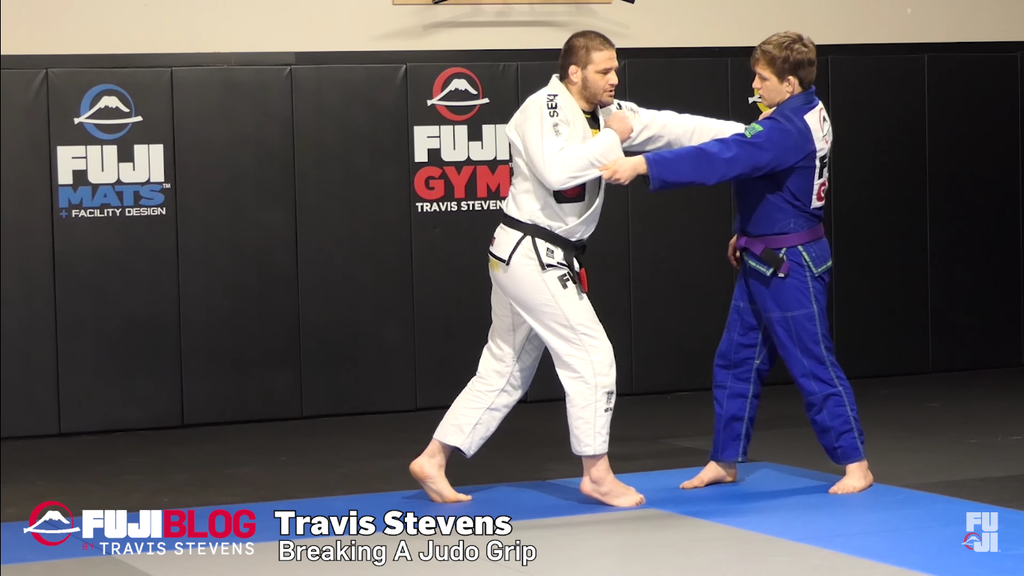 Breaking A Judo Grip With Travis Stevens