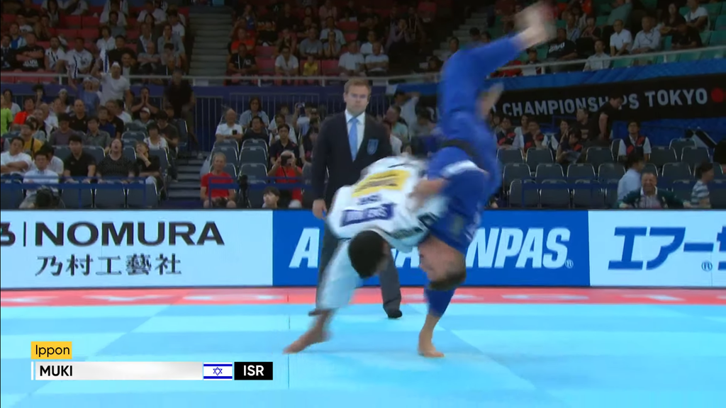 Sagi Muki Wins 2019 Judo Worlds!