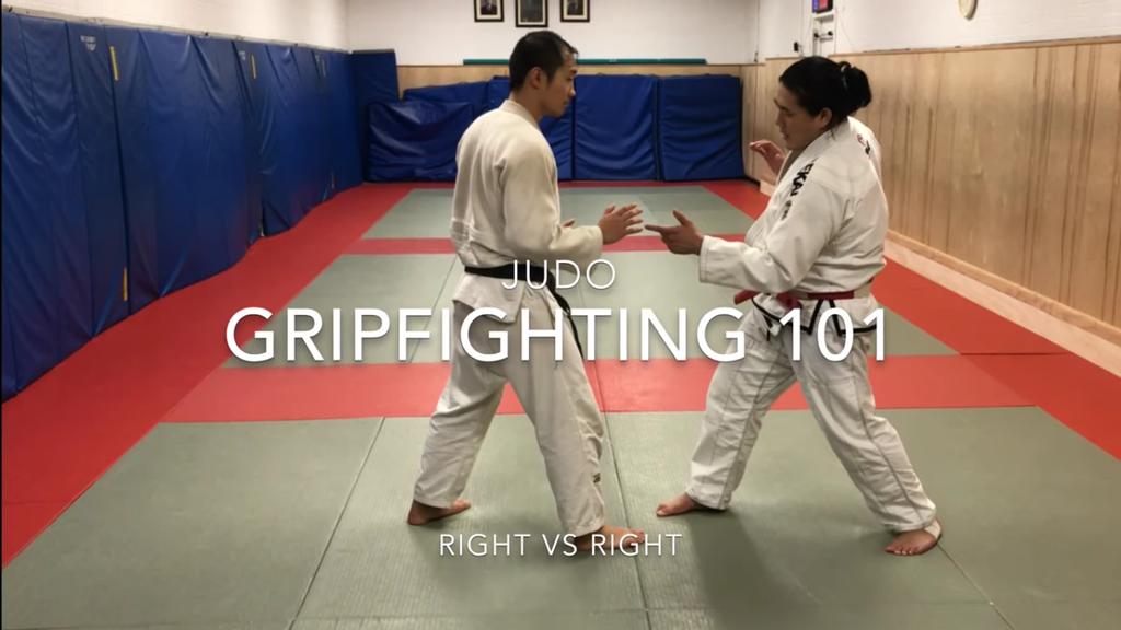 Grip Fighting with Shintaro Higashi