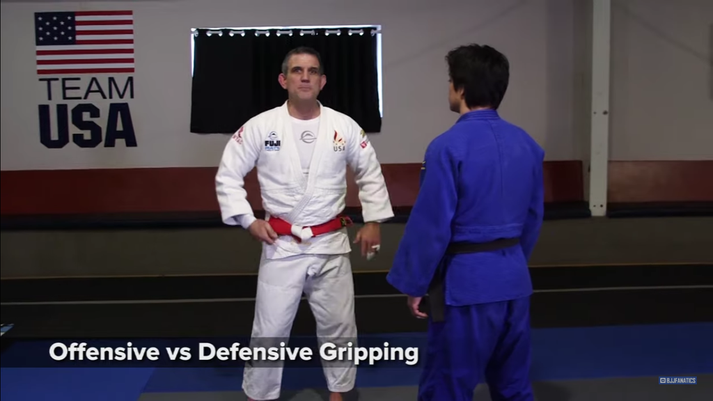 Offensive Vs Defensive Gripping, Grip Tips With Jimmy Pedro