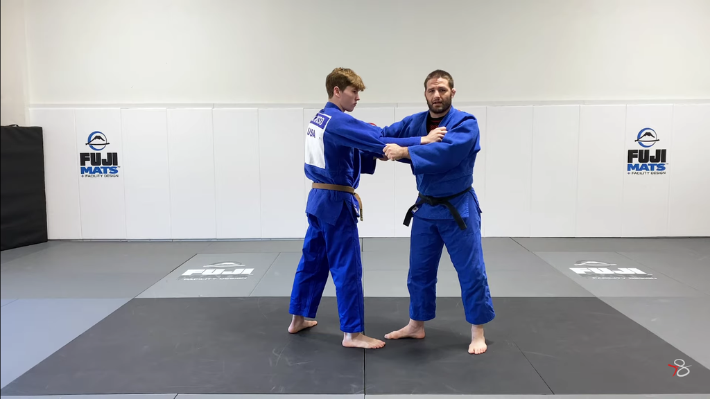Set Up Your Foot Sweep With Travis Stevens