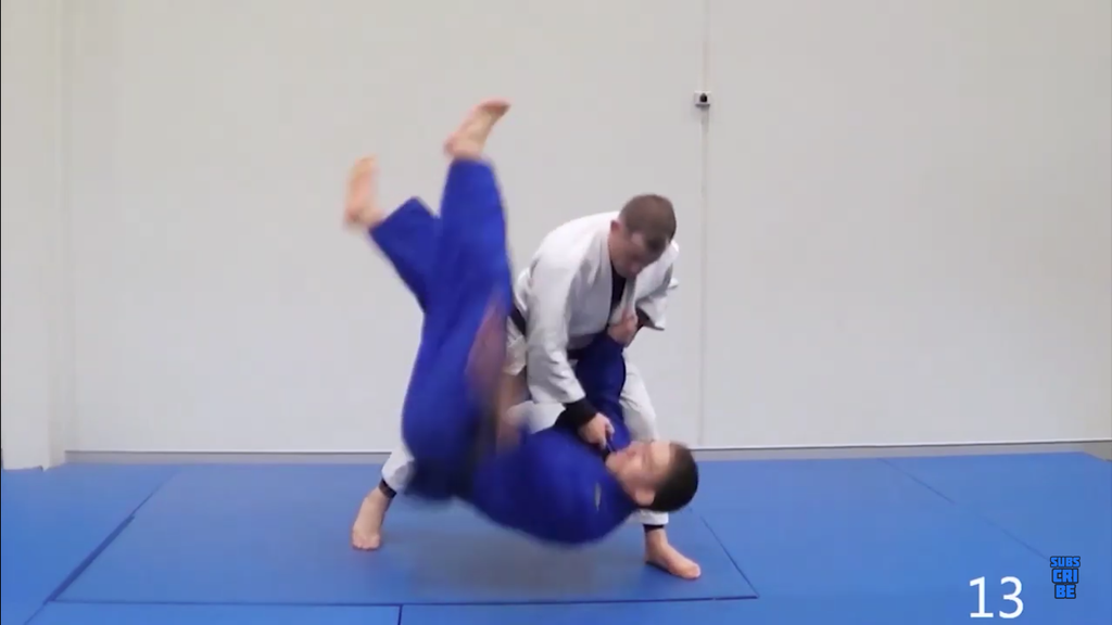Cross Grip Tai Otoshi With Matt D'Aquino