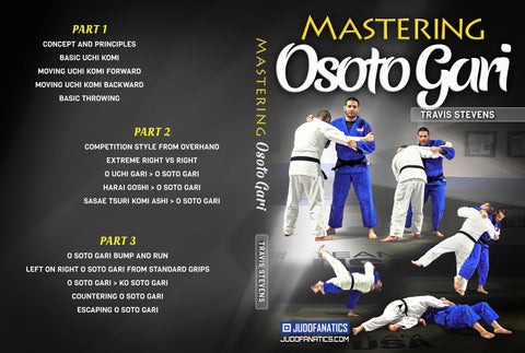 Mastering Osoto Gari by Travis Stevens
