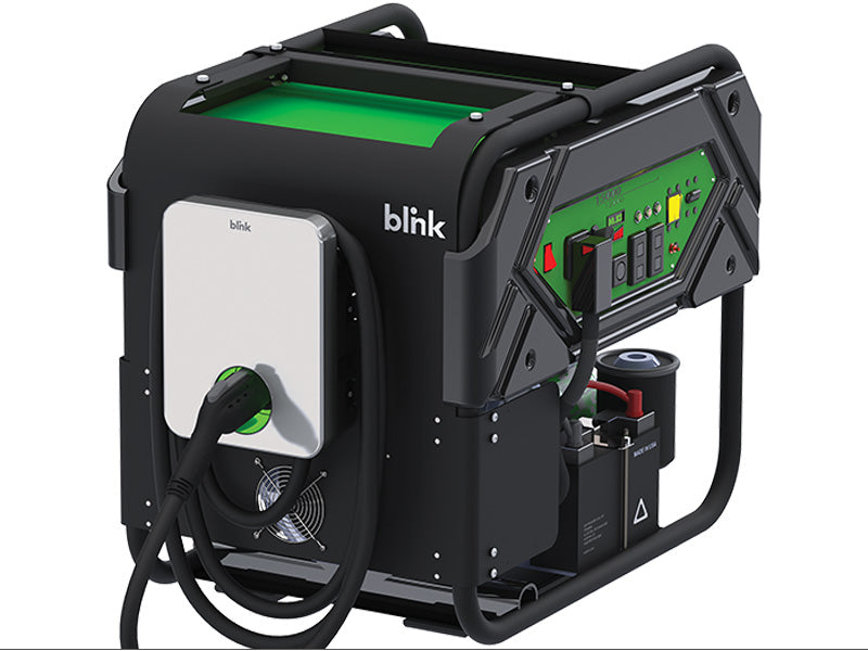 Blink Mobile EV Charging Station