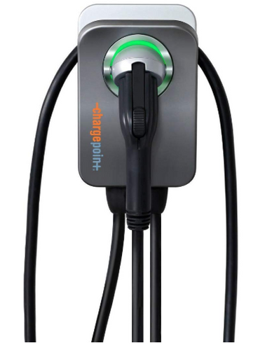 ChargePoint Home Flex WiFi Enabled Electric Vehicle (EV) Charger, Indoor/Outdoor, 23ft Cord