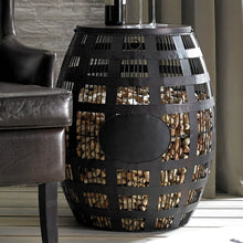 Load image into Gallery viewer, Barrel Cork Catcher Side Table