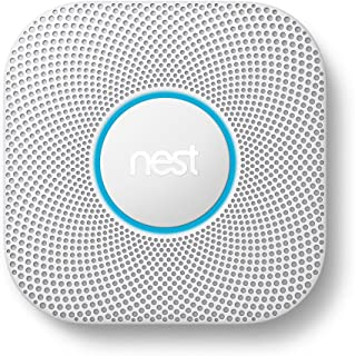 Google Nest Protect Battery Smoke and Carbon Monoxide Detector