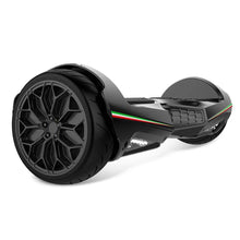 "Load image into Gallery viewer, Two Dots Glyboard Veloce Hoverboard Bluetooth APP Enabled 6.5"" Off Road Hoverboard with LED Lights"