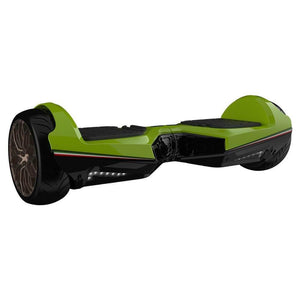 "Two Dots Glyboard Veloce Hoverboard Bluetooth APP Enabled 6.5"" Off Road Hoverboard with LED Lights"