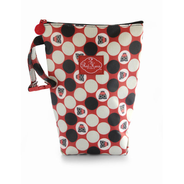 2 Red Hens Diaper Pack Owl Dots