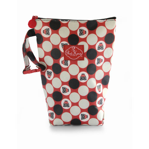 2 Red Hens Diaper Pack - Owl Dots