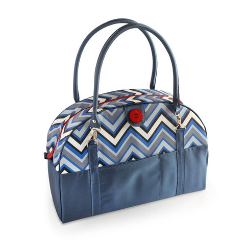 2 Red Hens Coop Carry-All - Chevron Stripes