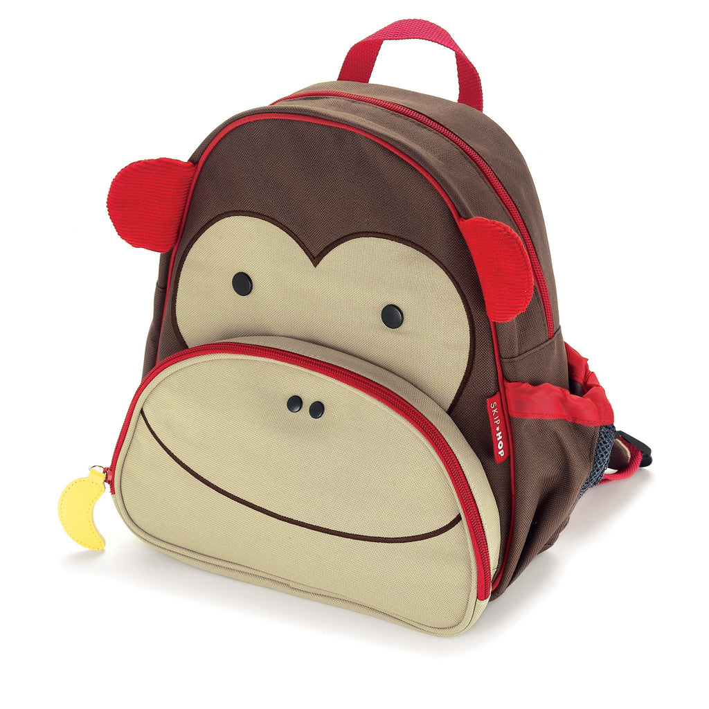 Skip Hop Zoo Pack Kids Backpack Monkey