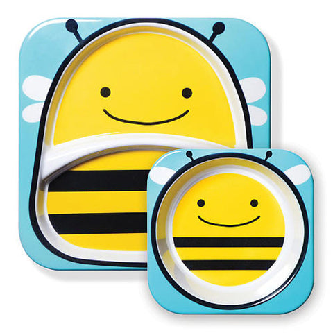 Skip Hop Zoo Tabletop Melamine Set - Bee