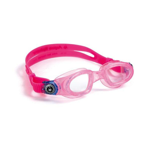 Aqua Sphere Moby Kid - Clear Lens -  Pink