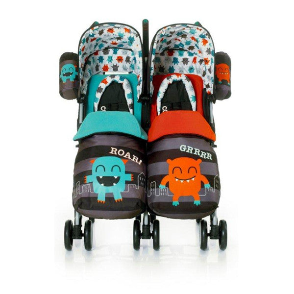 Cosatto Twin Pushchair Cuddle Monster