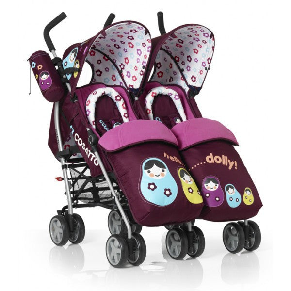 Cosatto You 2 Twin Pushchair Hello Dolly
