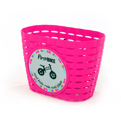 FirstBIKE Basket Pink