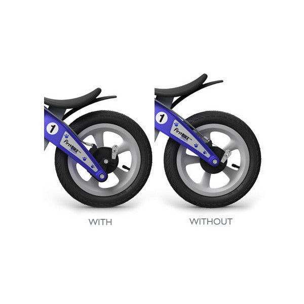 FirstBIKE With and Without Lowering Kit