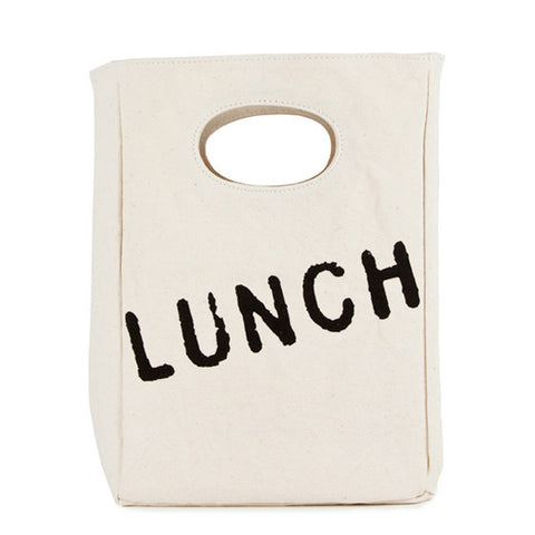 fluf Organic Cotton Lunch Bag- LUNCH