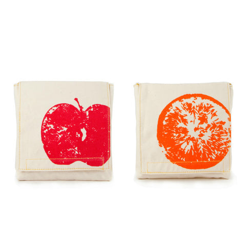 fluf Snack Pack (Set of 2)- Apple&Orange