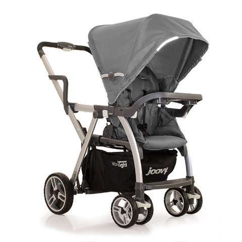 Joovy Charcoal Caboose Varylight Stand-On Tandem Stroller