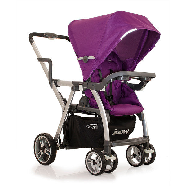 Joovy Caboose Varylight Stand-On Tandem Stroller Purpleness