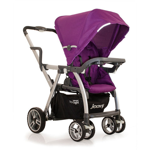 Joovy Purpleness Caboose Varylight Stand-On Tandem Stroller