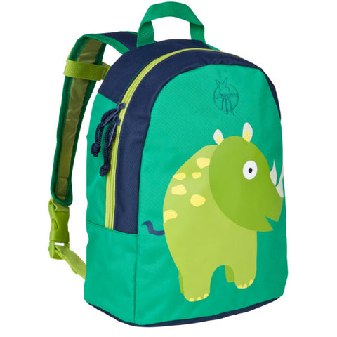Lassig 4Kids Mini Backpack Wildlife Rhino