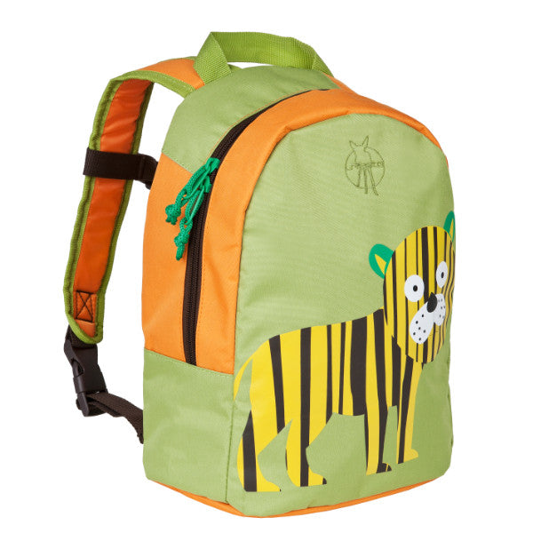 Lassig 4Kids Mini Backpack Wildlife Tiger