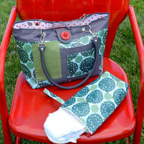 2 Red Hens Rooster Diaper Bag And Pack