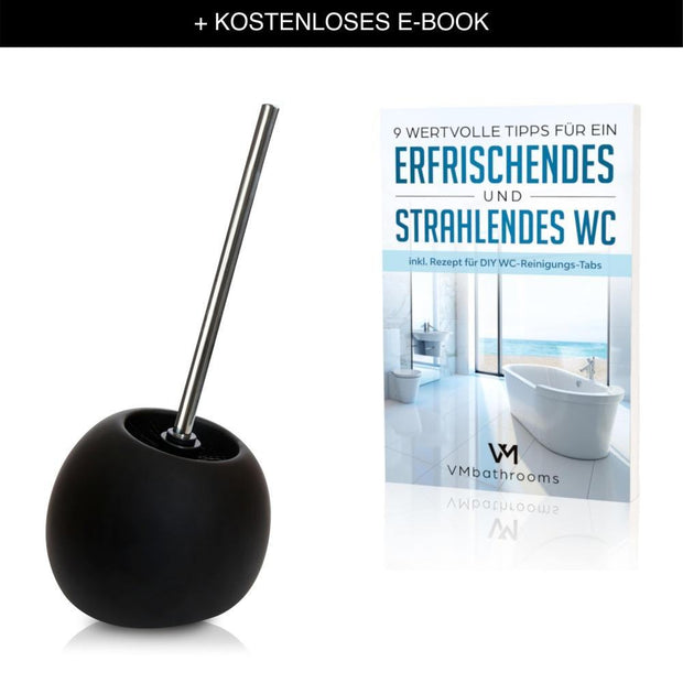 VMbathrooms ® - Keramik WC-Bürste