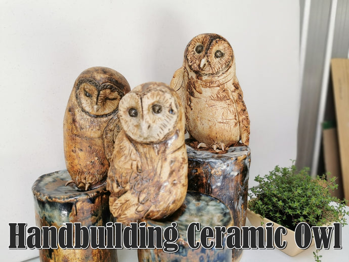 VIDEO: Creating an Owl Sculpture
