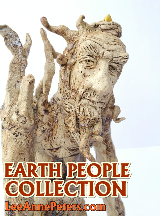 Meet my new collection - EARTH PEOPLE!