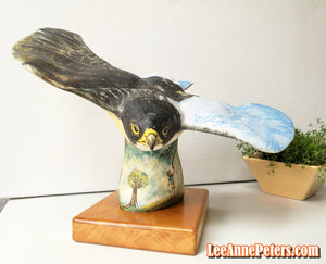 Sculpture - Peregrine Falcon