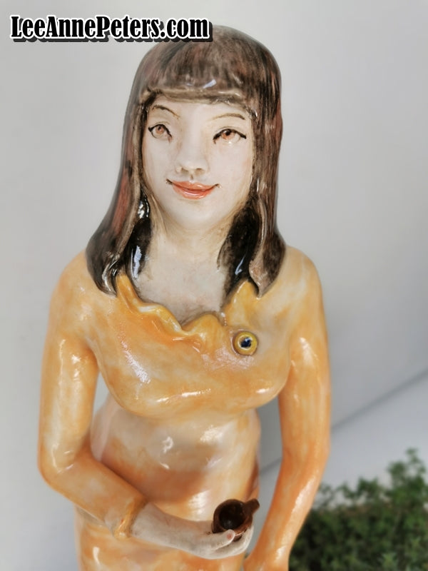 Sculpture - Cat lady