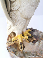 Load image into Gallery viewer, White Goshawk Sculpture