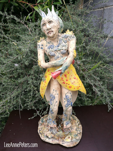 Sculpture - Old Lady of the Mountain