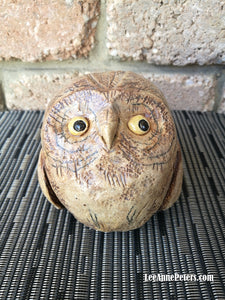 Teen Owl - sculpture