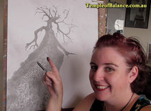 Load image into Gallery viewer, ART TUTORIAL - step by step tree drawing