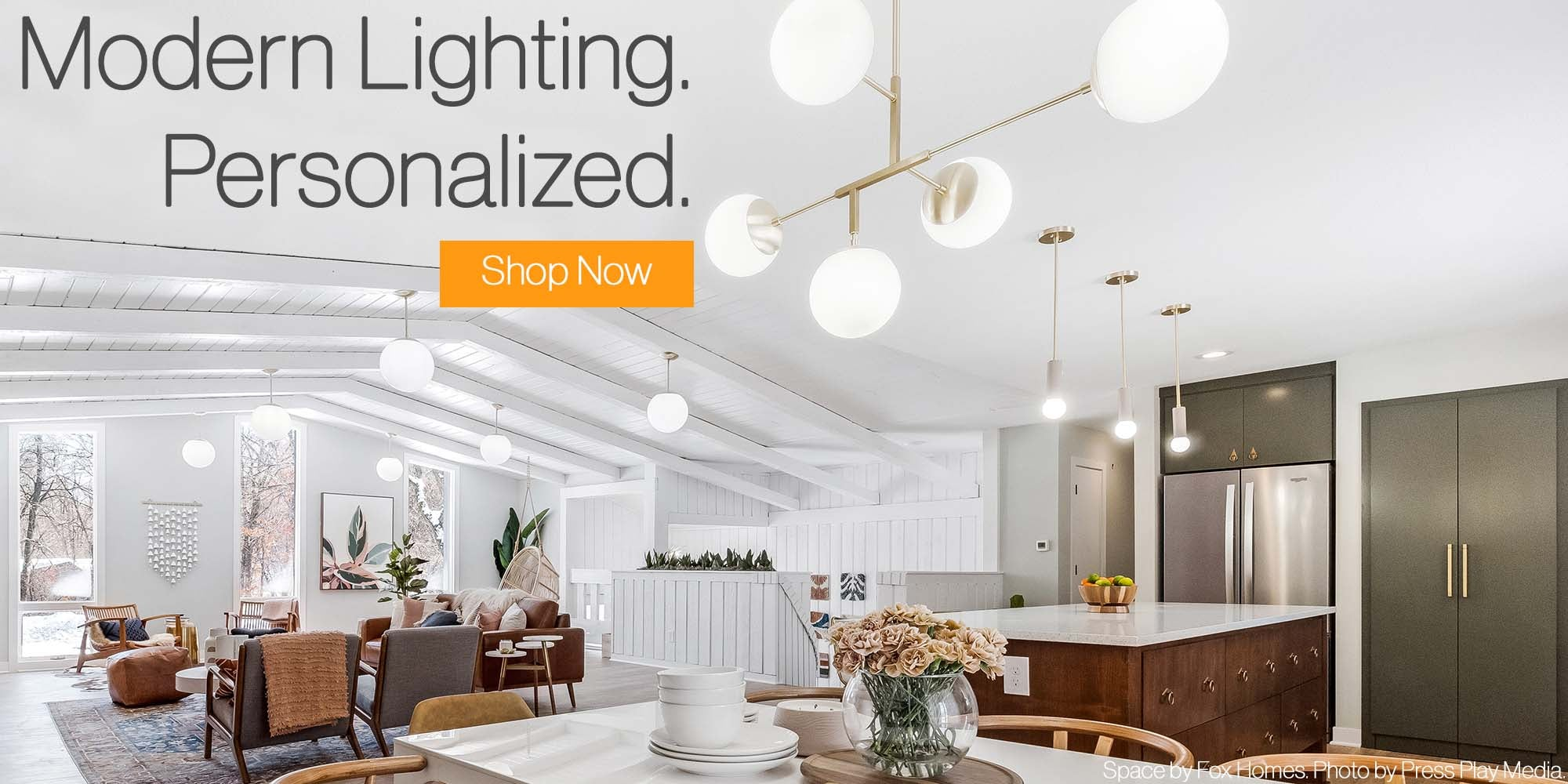 Modern Lighting Dutton Brown Home Page