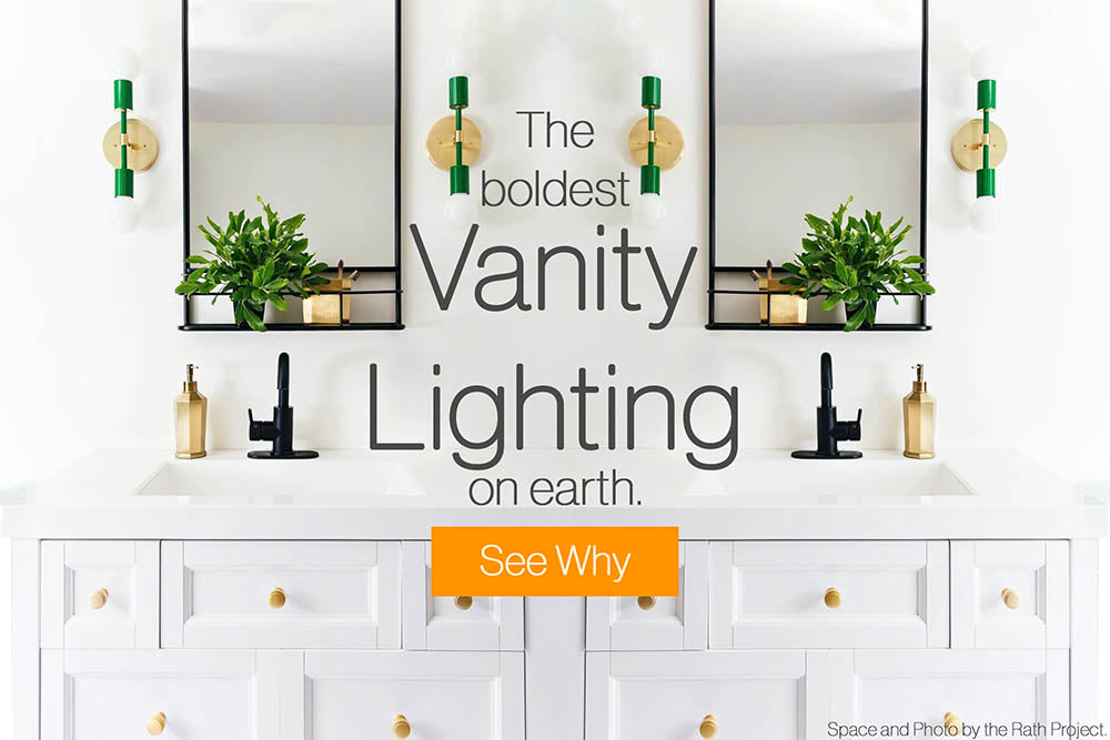 Vanity Lighting Collection by Dutton Brown.
