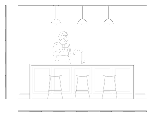kitchen island lighting homesweet dome 10 scale drawing